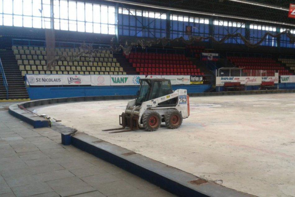 Zimný štadión v Považskej v rekonštrukcii: Ako vyzerá aktuálne?