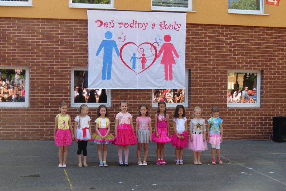Pozrite si ho OBRAZOM: Deň rodiny a školy na ZŠ Pugačevovej