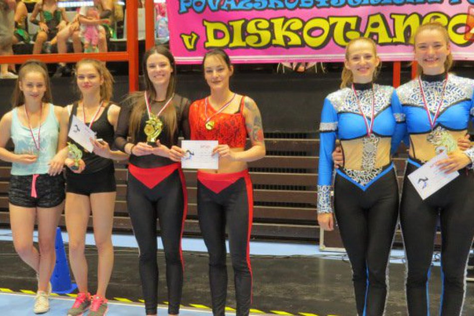 Tanečná súťaž v našom meste: Tváre úspešných Považskobystričaniek
