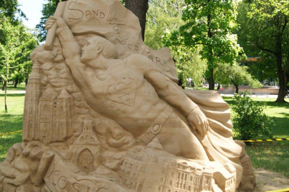 Fenomenálne sochy z piesku na festivale v Košiciach