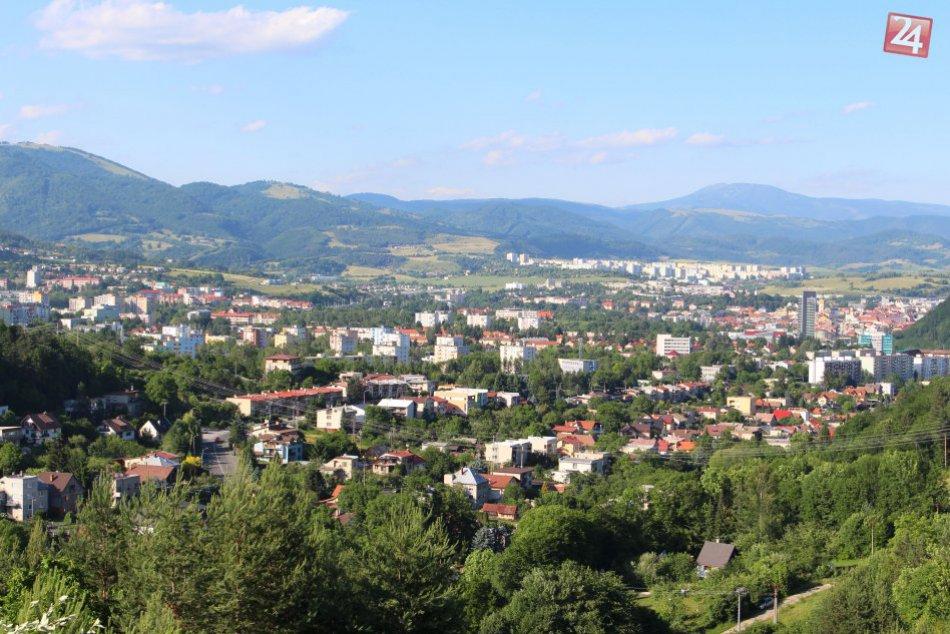V OBRAZOCH: Bystrica z výšky Malachovských skaliek