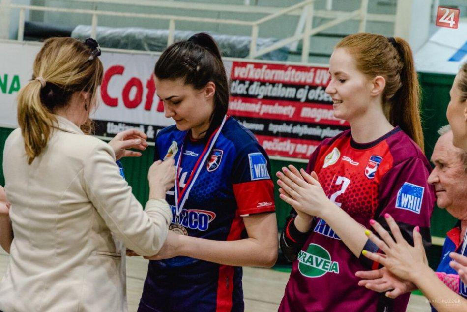Viktória Vencuriková: Hrá hádzanú v Prešove, je kapitánkou v reprezentácii