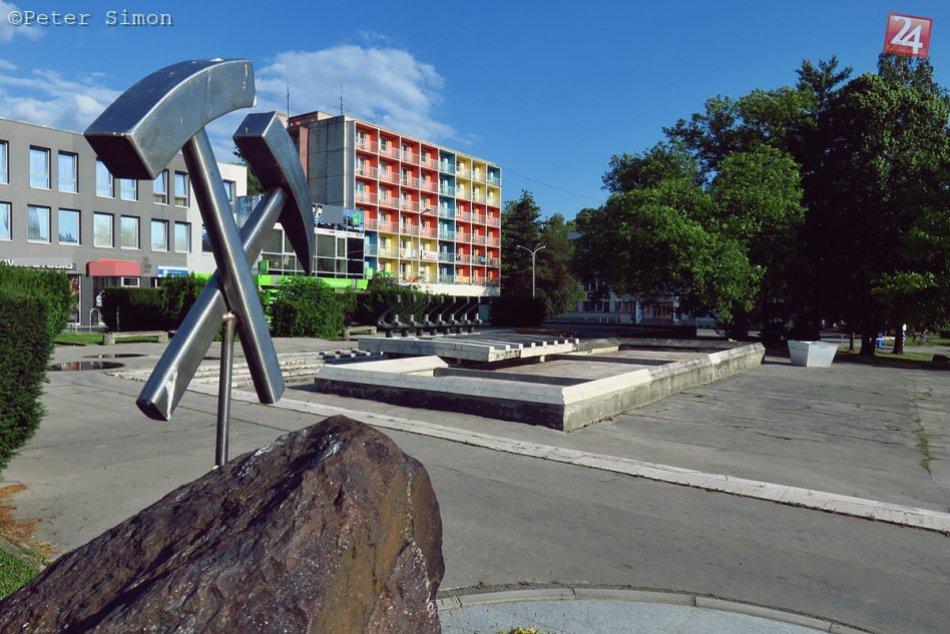 Obrazom: Obnovenie fontány v Rožňave