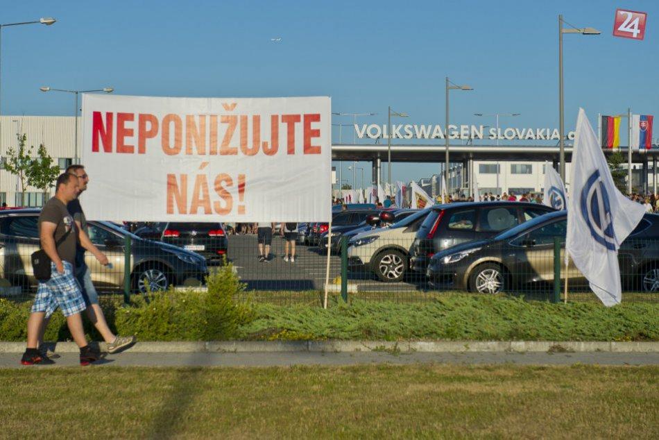 Štrajk vo Volkswagene