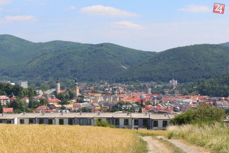 V OBRAZOCH: Bystrica z výšky Graniara