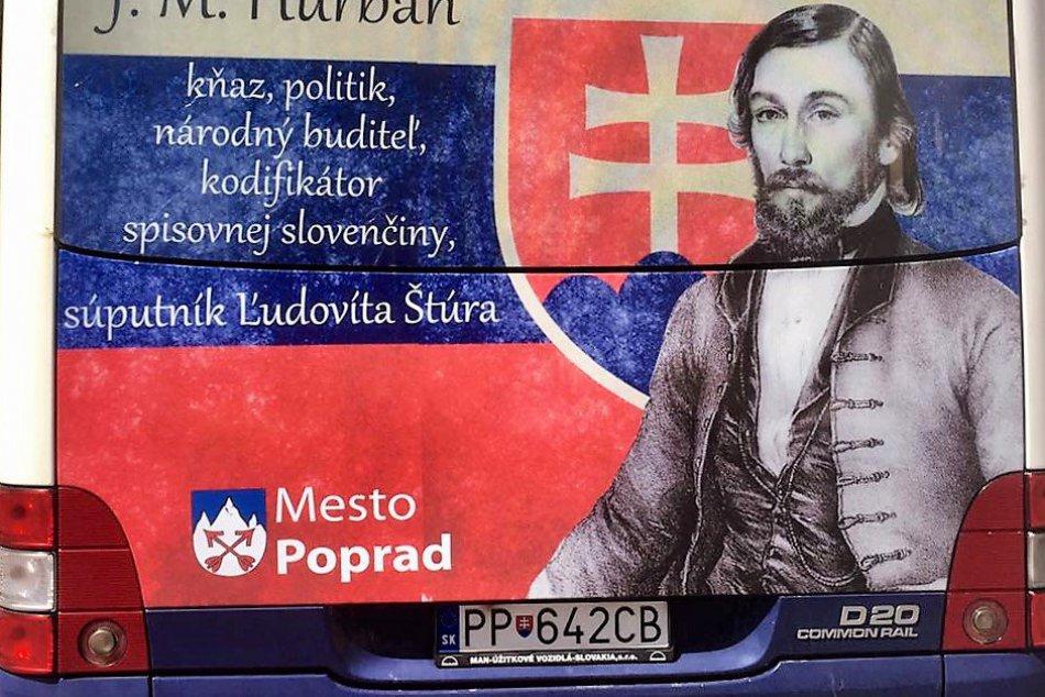 Popradská MHD v novom šate: Ľudovíta Štúra vystriedal Jozef Miloslav Hurban