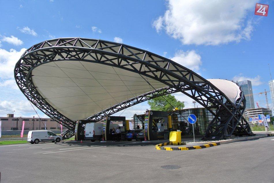 Najmodernejšia čerpacia stanica v Bratislave