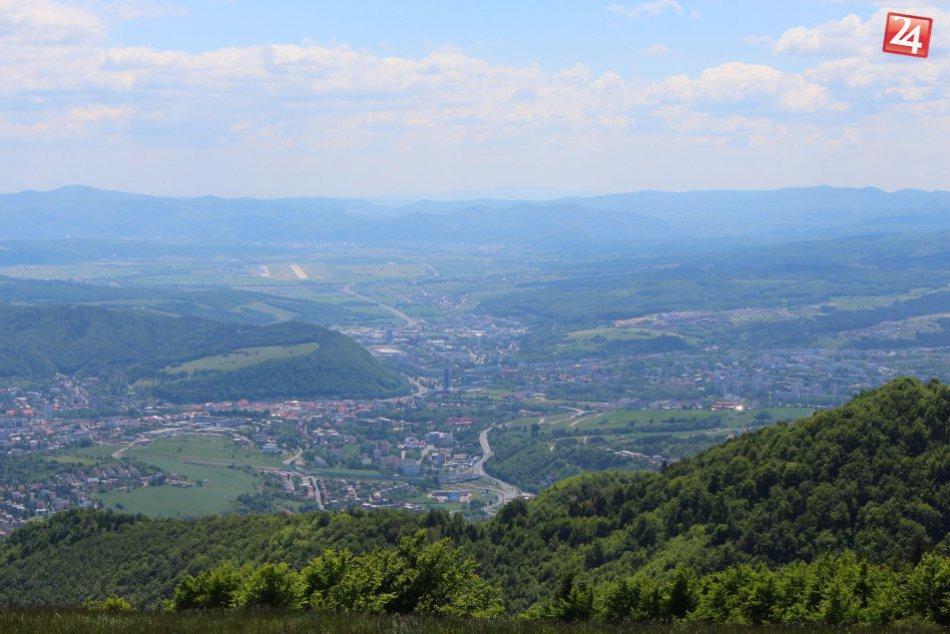 V OBRAZOCH: Krása Bystrice zachytená z výšky okolitých kopcov