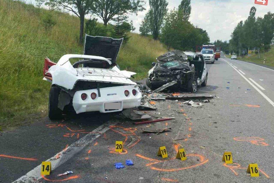 Tragická dopravná nehoda za Popradom: Spolujazdec neprežil zrážku dvoch áut