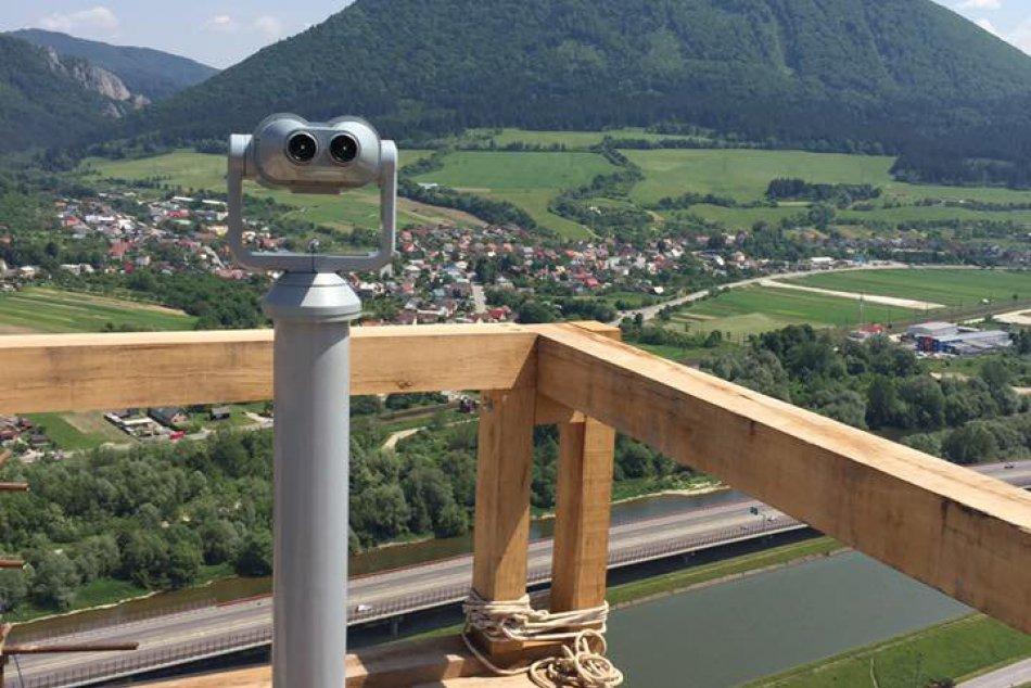 Považský hrad s novými atrakciami: Pribudol aj ďalekohľad