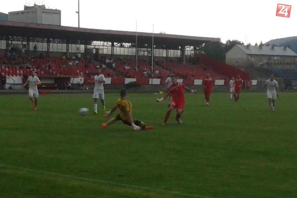 Slovenský pohár v Považskej: Zábery zo zápasu s Častkovcami (0:2)