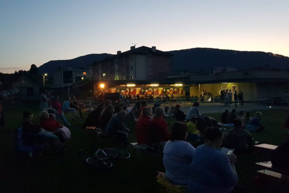 Letné kino v Domaniži: Takto to tam vyzerá počas premietania