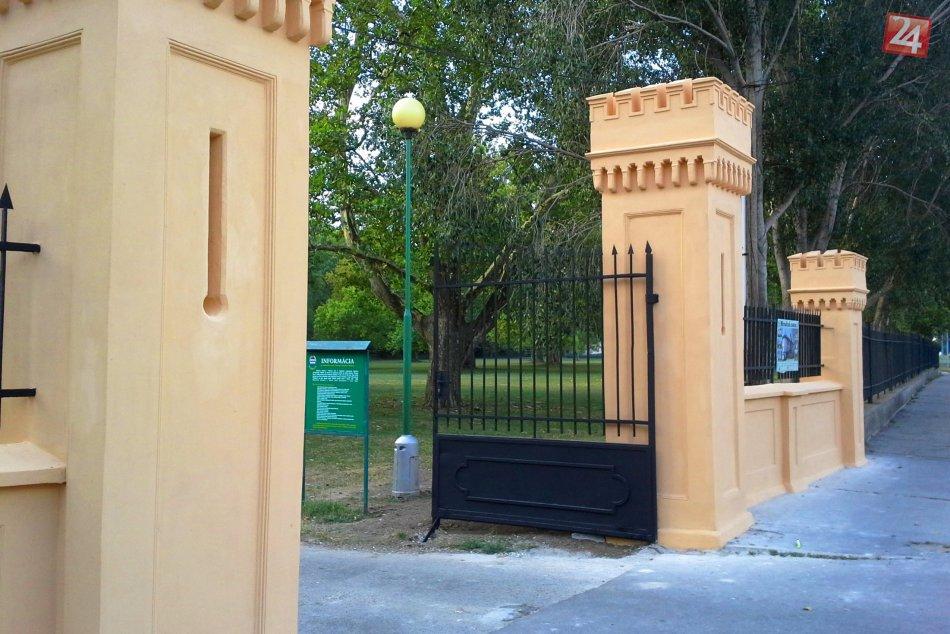 OBRAZOM: Rekonštrukcia brány do Zámockej záhrady je ukončená