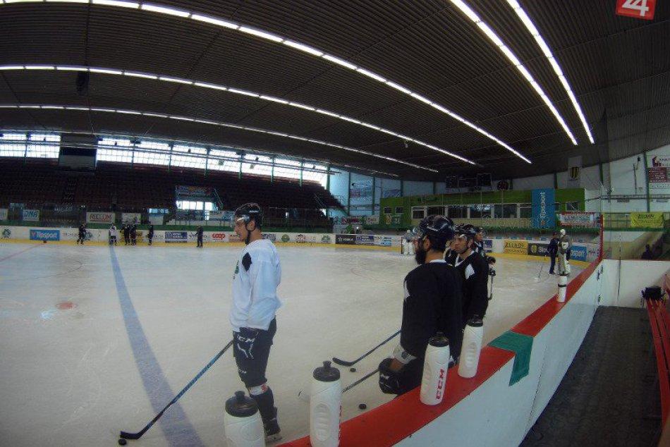 Tréning hráčov HC Nové Zámky