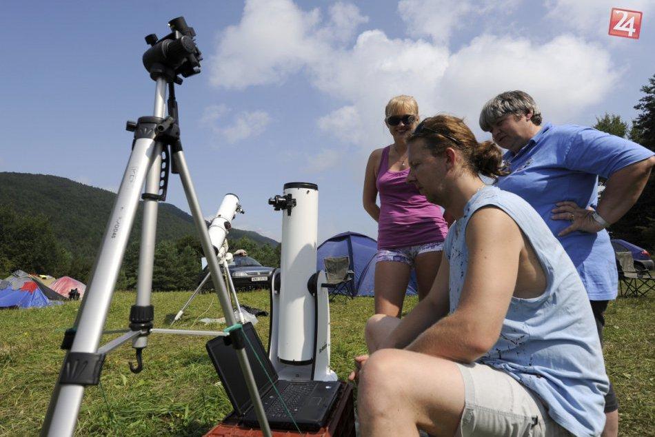 Expedície Perzeidy vo Vrchteplej: Takto u nás pozorujú astronomické úkazy