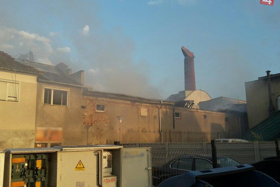 FOTOGALÉRIA: V Trnave v skorých ranných hodinách horelo!