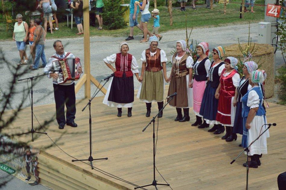 Obrazom: 25. Festival ľudového spevu a tanca vo Vlachove