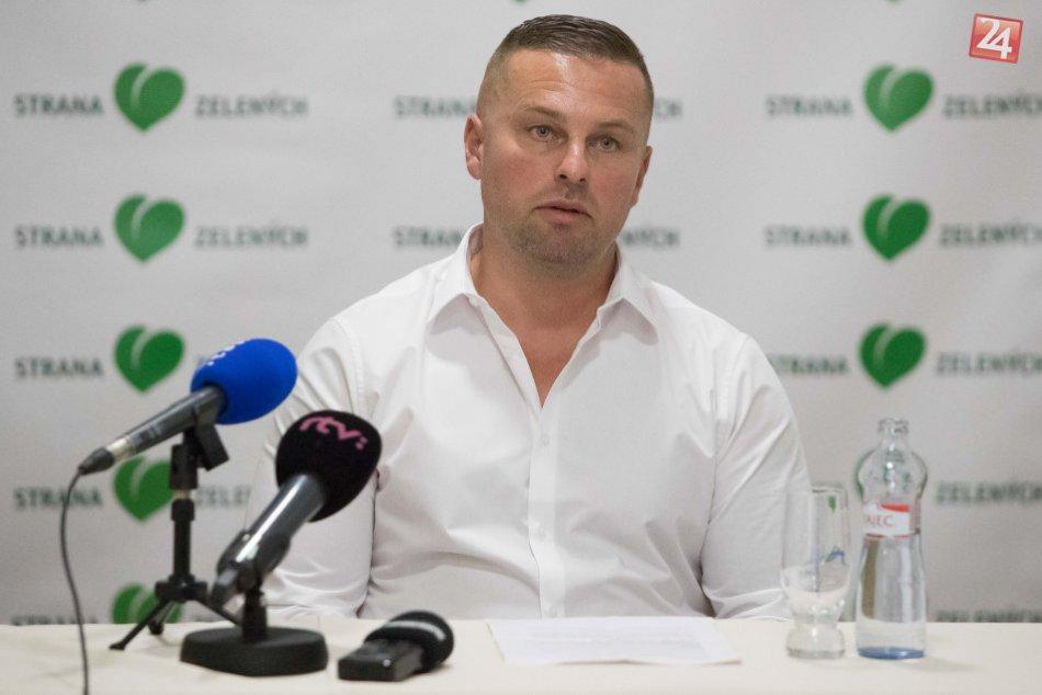 V OBRAZOCH: Nový kandidát na šéfa BBSK: Marek Mališ zo Strany zelených