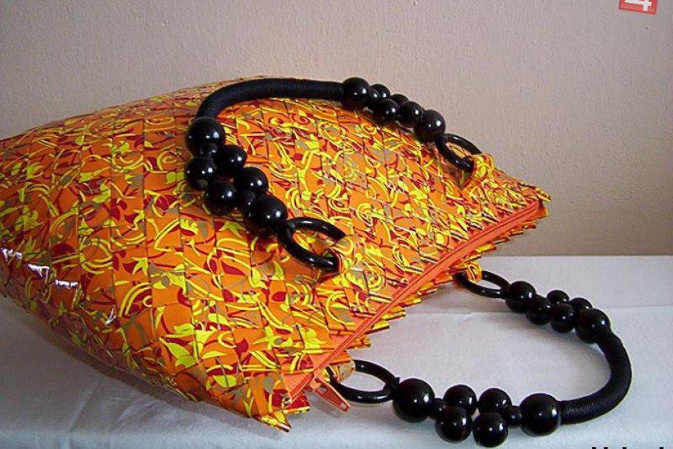 Pozrite si aj vy tie nevšedné kabelky: Jarmila ich vyrába z papiera!
