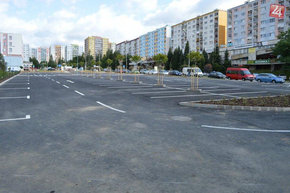 V OBRAZOCH: V Sásovej otvorili nové parkovisko. Pozrite si FOTO