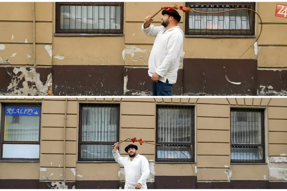 FOTOGALÉRIA: Marek predviedol na jarmoku v malom Ríme, ako to vie s bičom