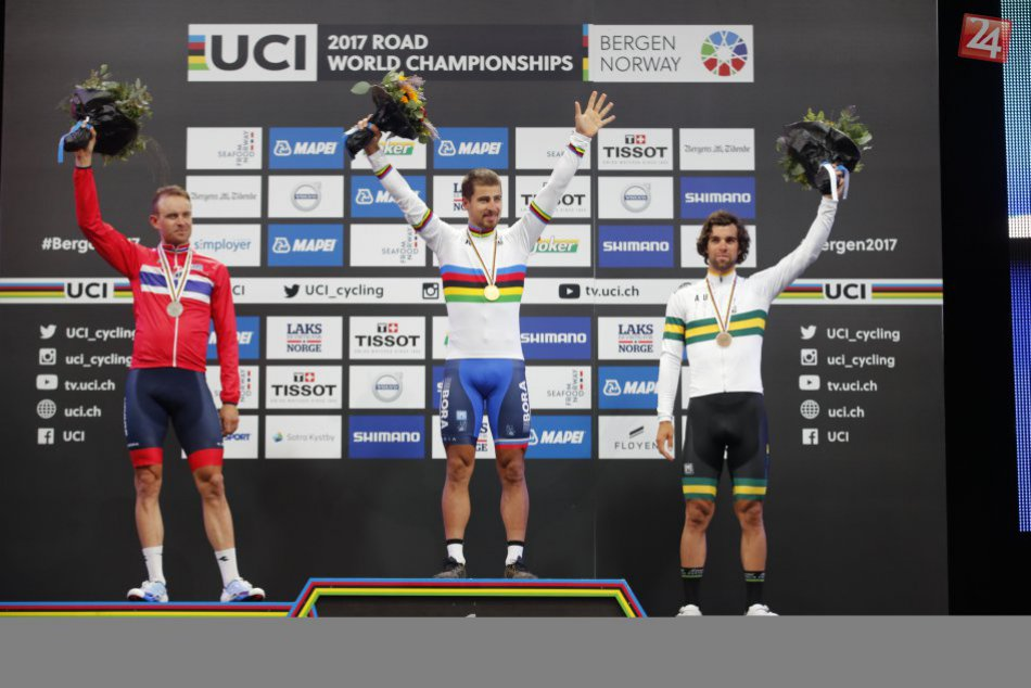 Peter Sagan obhájil titul majstra sveta