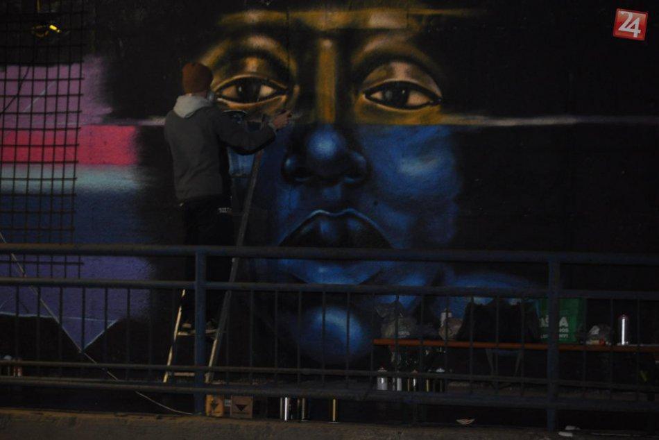 Postarali sa o diela, ktoré upútajú pohľady: V Spišskej to rozbalili grafiťáci