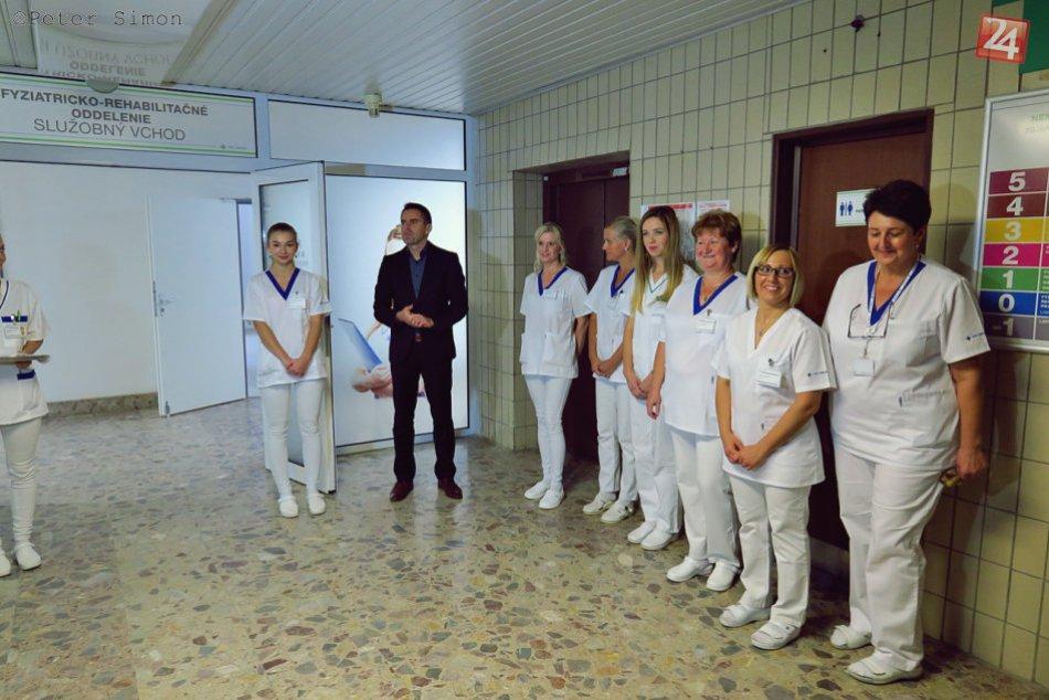 Obrazom: Nemocnica v Rožňave má nové fyziatricko-rehabilitačné oddelenie