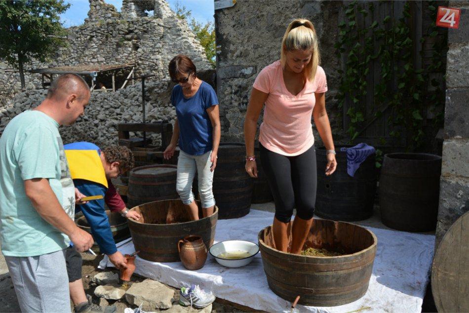 FOTOGALÉRIA: Na Vinianskom hrade prebehlo vinobranie