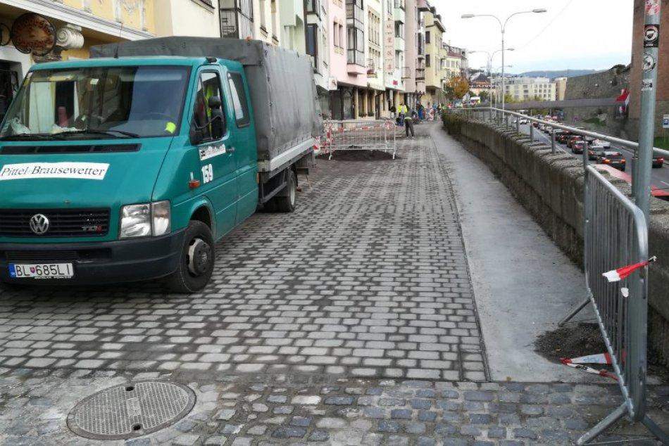 Parkovanie na Židovskej ulici