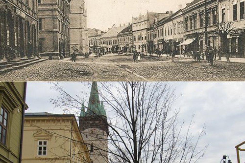 Fotoporovnania z Prešova: Lokality nášho mesta kedysi a dnes, to treba vidieť