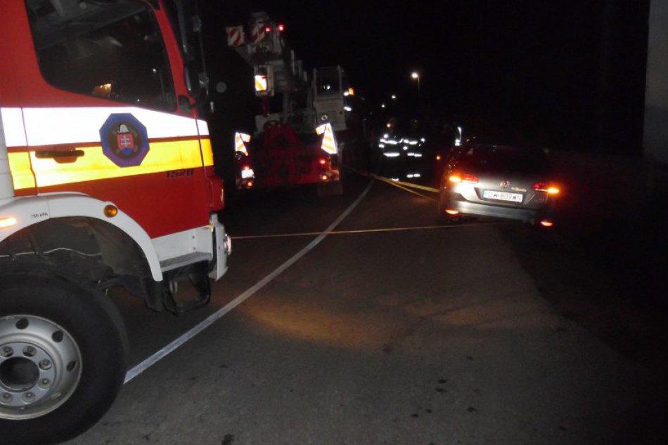 Obrazom: Dopravná nehoda pri Paškovej