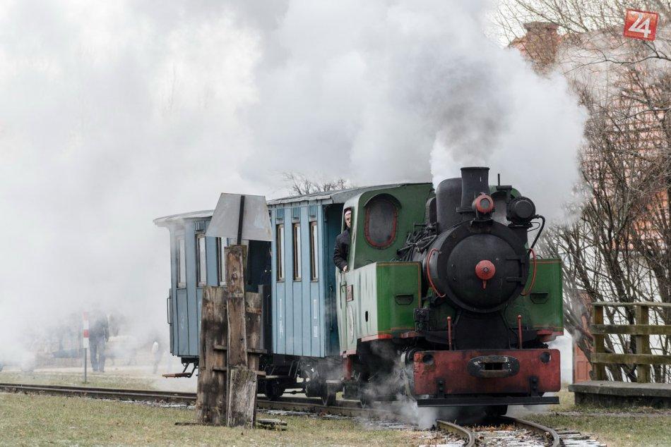 Mikulášsky vlak v Nitre