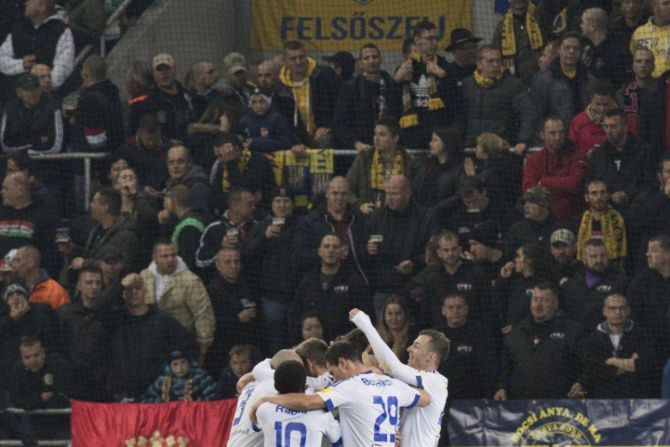Zápas DAC versus Slovan s rekordnou návštevou