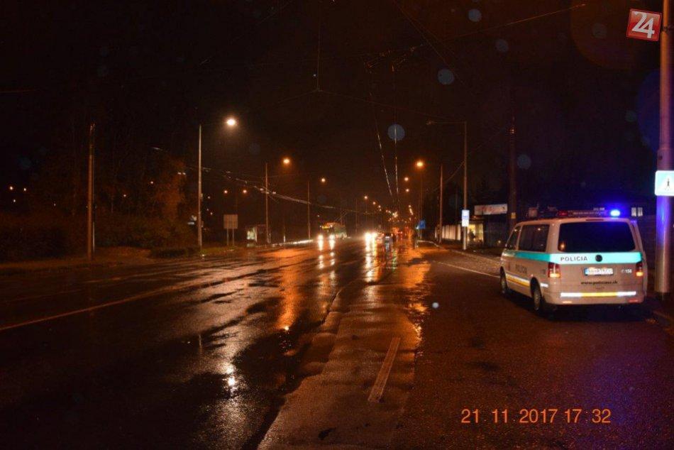V OBRAZOCH: Foto z miesta nehody na bystrickom priechode
