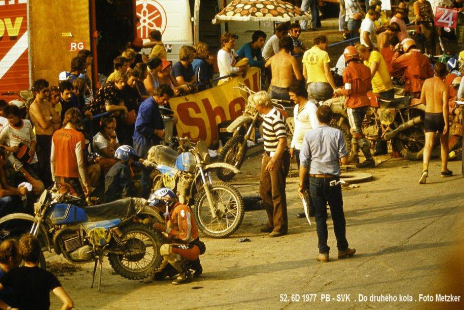 Šesťdňová 1977 v Považskej a okolí: Zábery z trate a nielen jej