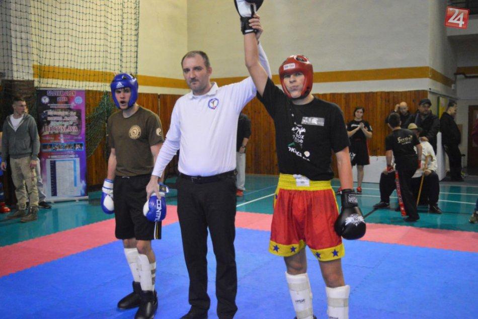 Michalovskí zástupcovia na Open lige SZKB v kickboxe