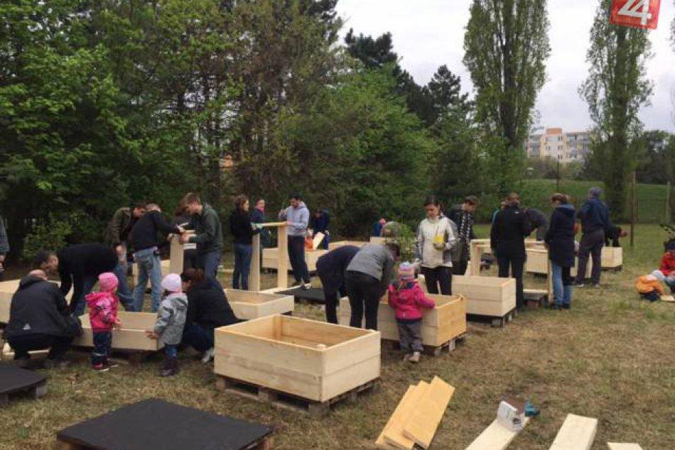 Komunitná záhrada Ostredky