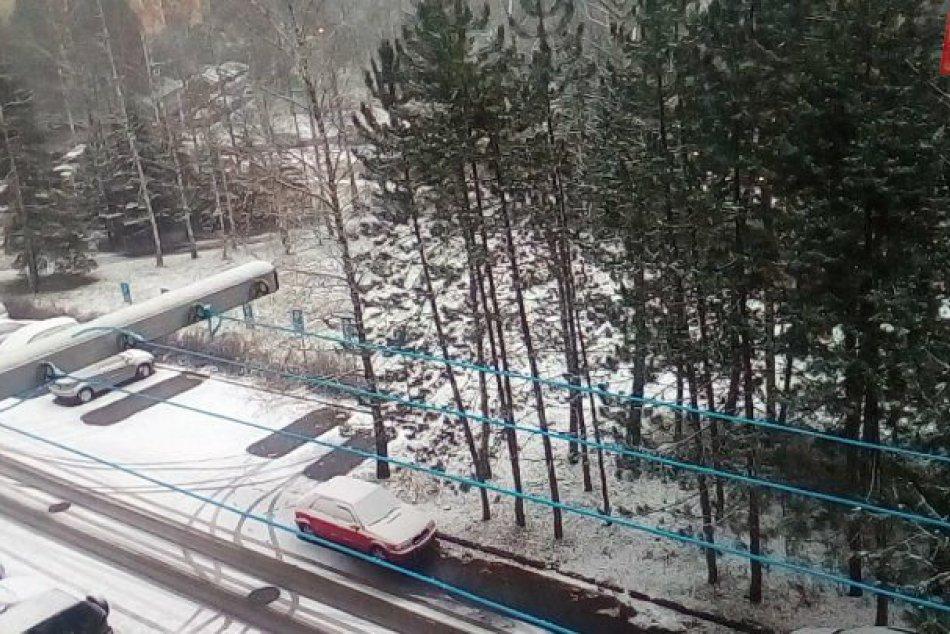 V OBRAZOCH: Perinbaba úraduje v Bystrici aj okolí. Zábery snehovej prikrývky
