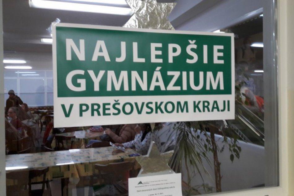 Deň otvorených dverí v Poprade. Do školy na Ulici mládeže prišli desiatky záujem