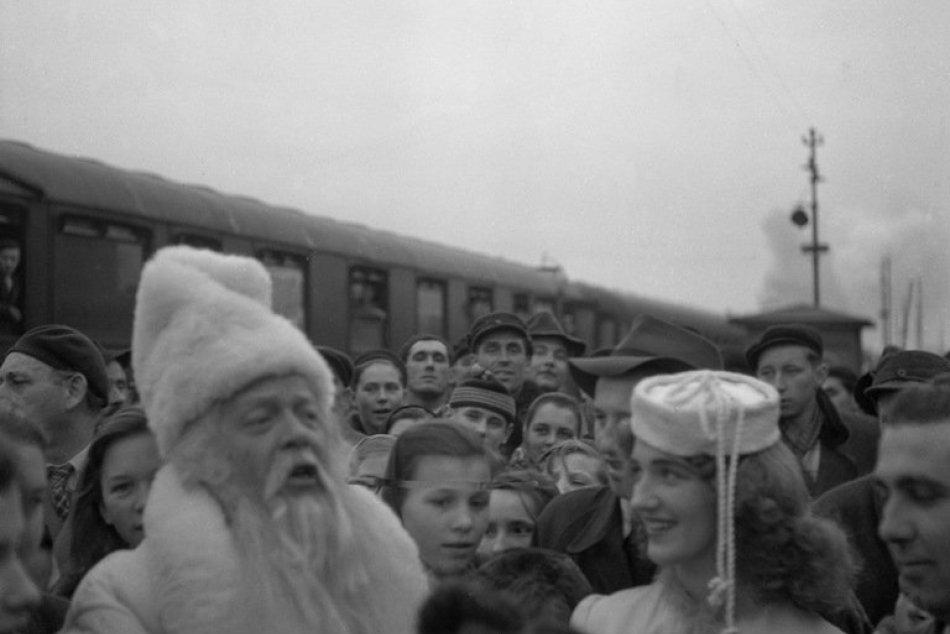 RETRO: Do Košíc zavítal pred 65 rokmi Dedo Mráz