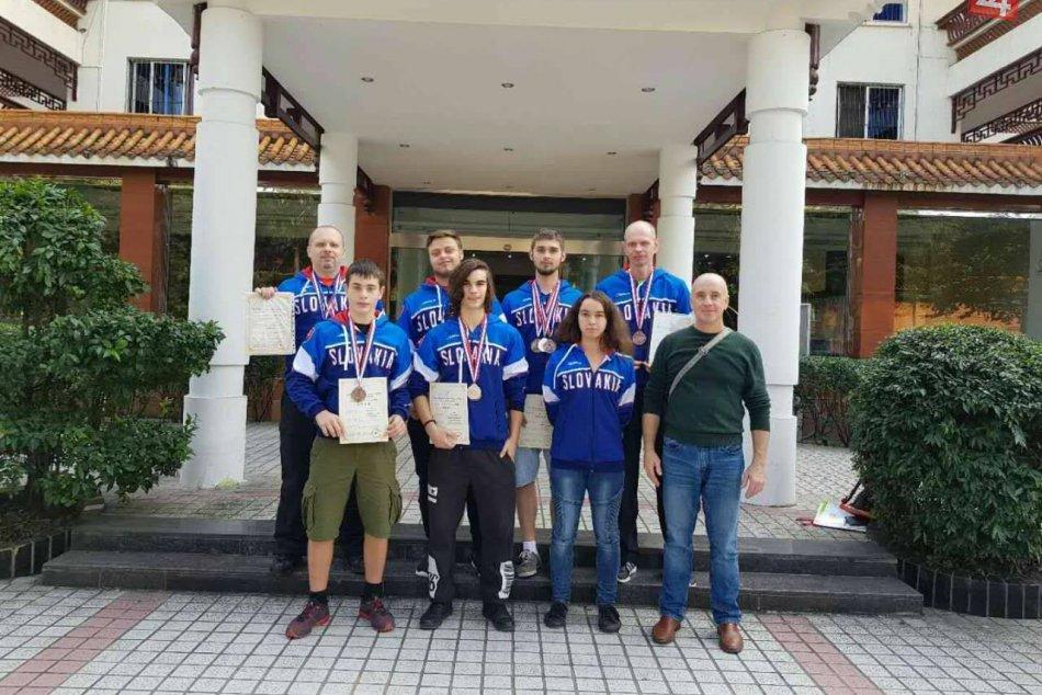 OBRAZOM: Trnavčania prerazili v Číne na Majstrovstvách sveta vo wushu