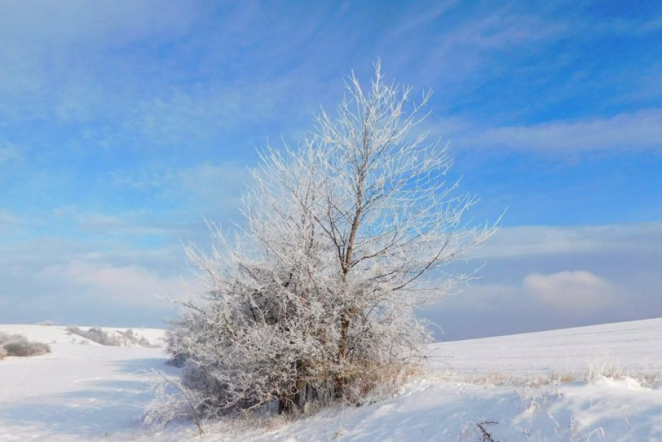 Obrazom: Obec Silica udivuje aj v zime