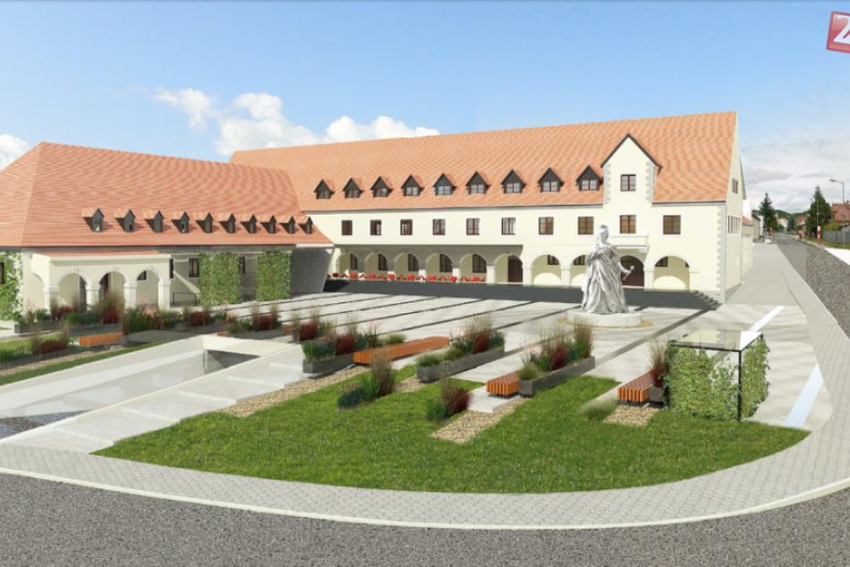 Víťazný návrh rekonštrukcie Nemeckého kultúrneho domu v Rači