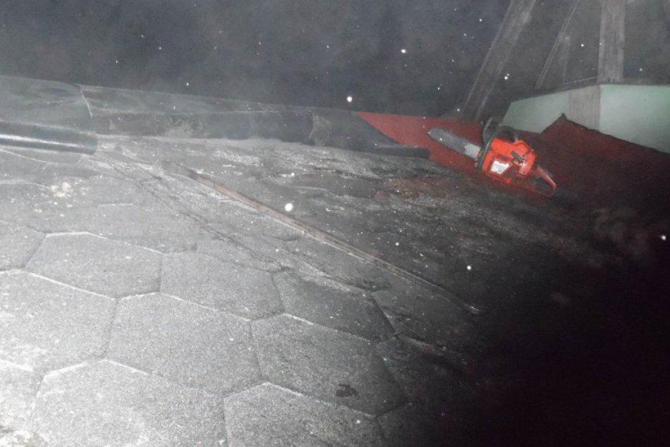 Obrazom: Požiar kotolne reštaurácie na Juhu