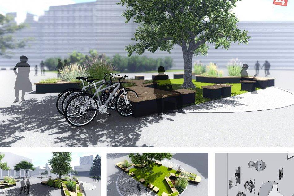 Vizualizácia nového Kamenného námestia