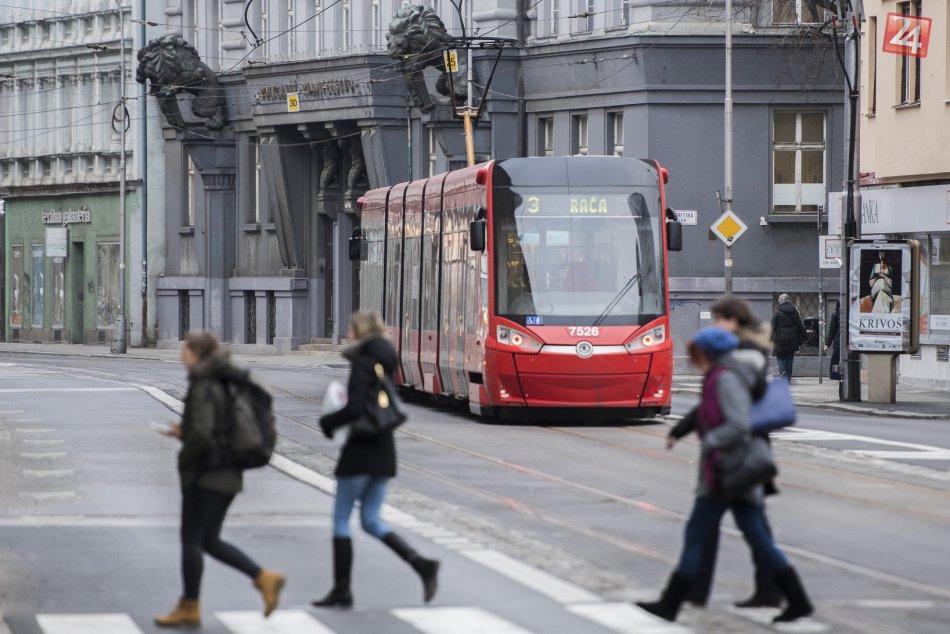 Obnovená premávka električiek na Špitálskej