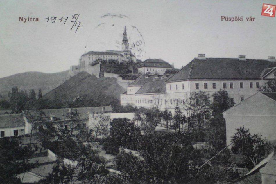 FOTOPRÍBEH Nitrianskeho hradu: Takto sa rokmi menila naša dominanta a jej okolie