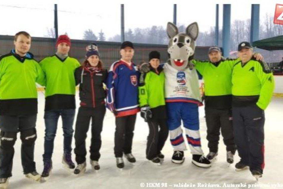 Obrazom: Podujatie Deti na hokej prilákalo množstvo nádejných športovcov