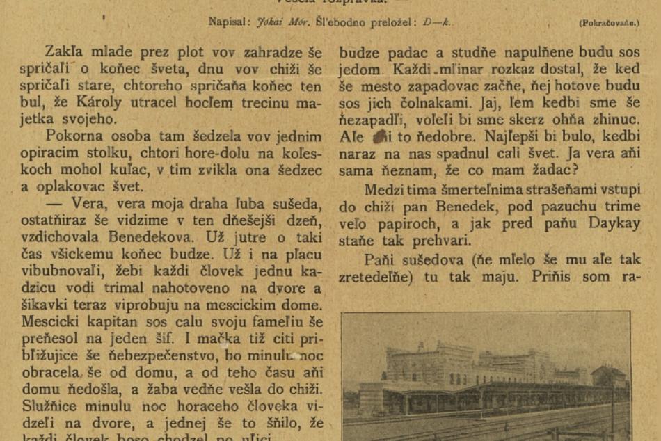 To je ale kúsok: Pozrite si noviny z Prešova v šarišskom nárečí spred 108 rokov
